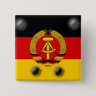 East German Flag Button