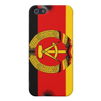 East German Flag Case For iPhone SE/5/5s