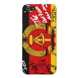 East German Flag Cover For iPhone SE/5/5s