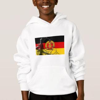 East German Flag Hoodie