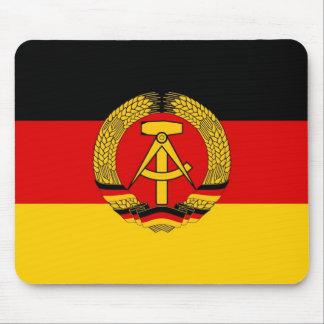 East German Flag Mouse Pad