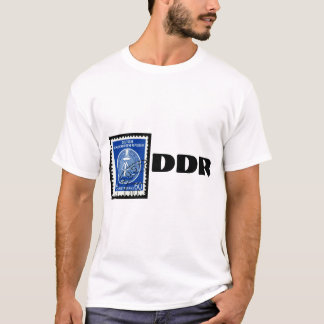 East German T-Shirt with DDR Stamp