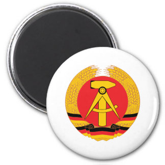 East Germany Coat Of Arms 2 Inch Round Magnet