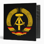 East Germany Coat of Arms / Deutschland State Seal Binder