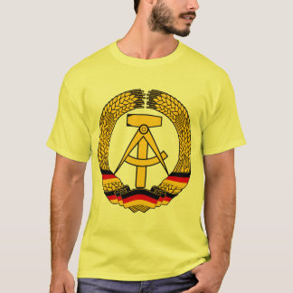 East Germany Coat of Arms / Deutschland State Seal T-Shirt