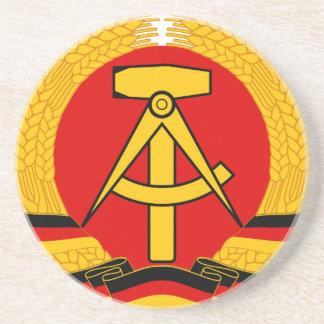 East Germany Emblem Coasters