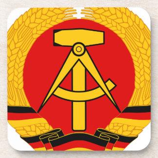 East Germany Emblem Beverage Coaster