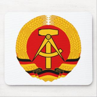 East Germany Emblem Mouse Pad