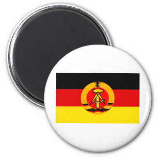 East Germany Flag 2 Inch Round Magnet