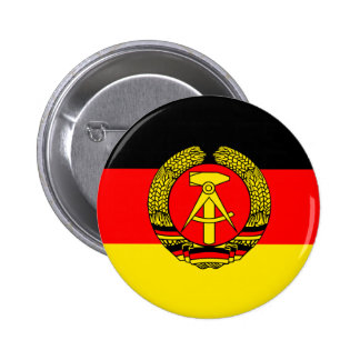 East Germany Flag Button