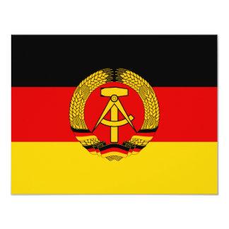 East Germany Flag Card