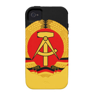 East Germany Flag Case-Mate iPhone 4 Cover