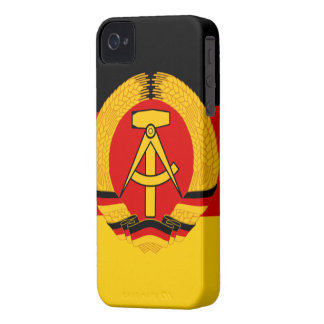 East Germany Flag iPhone 4 Covers