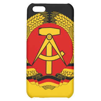 East Germany Flag Case For iPhone 5C