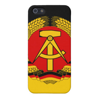 East Germany Flag iPhone SE/5/5s Cover
