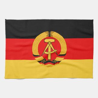 East Germany Flag Kitchen Towels