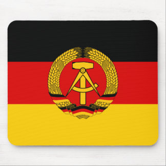 East Germany Flag Mouse Pad