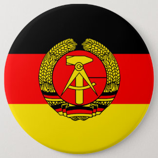 East Germany, Flag Pinback Button