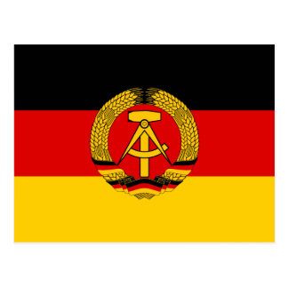 East Germany Flag Post Cards
