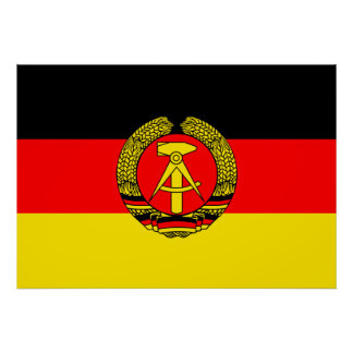 East Germany Flag Posters