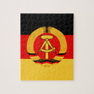 East Germany Flag Jigsaw Puzzles