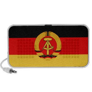 East Germany Flag Mp3 Speaker