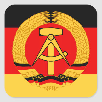 East Germany Flag Stickers