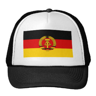 East Germany Flag Trucker Hat