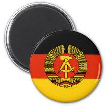 East Germany Magnet