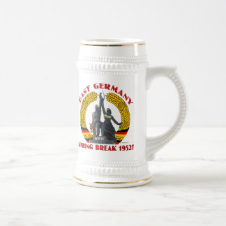 East Germany Spring Break 1952 (Stein) Mugs