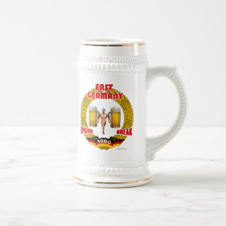 East Germany Spring Break 1980 Stein Mugs