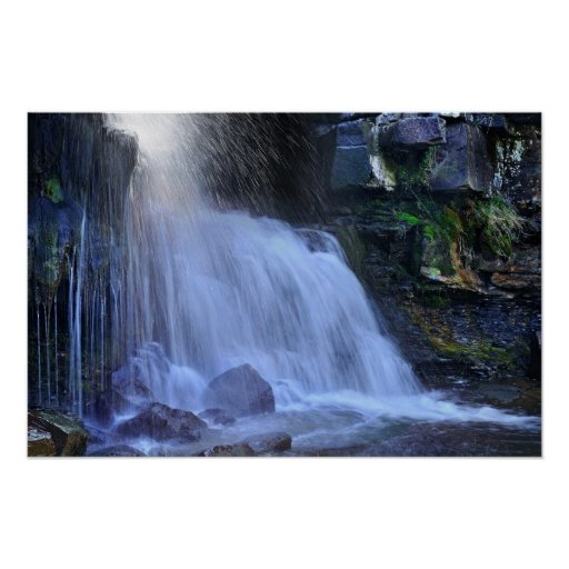 East Gill Force, Swaledale poster