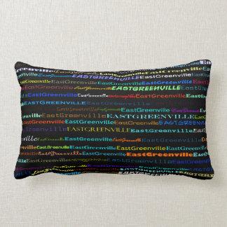East Greenville Text Design I Lumbar Pillow