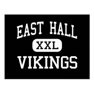 East Hall - Vikings - High - Gainesville Georgia Postcard