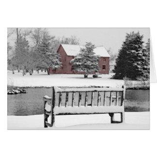East Hampton Blacksmith Winter Scene Cards