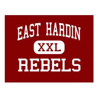 East Hardin - Rebels - Middle - Glendale Kentucky Postcard