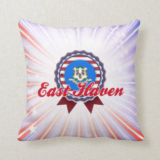 East Haven, CT Throw Pillow