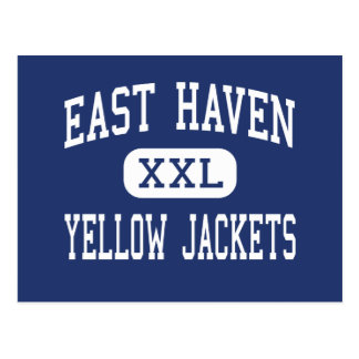 East Haven - Yellow Jackets - High - East Haven Postcard