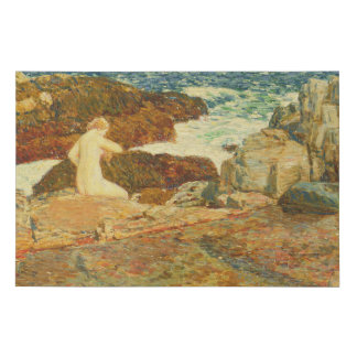 East Headland Pool Faux Canvas Print