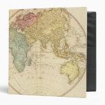 East Hemisphere  map 3 Ring Binders