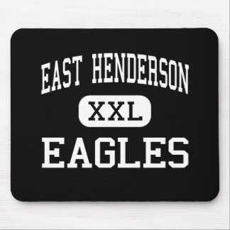 East Henderson - Eagles - High - Flat Rock Mouse Pad
