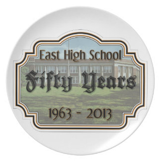 East High Fifty Year Reunion Commemorative Plate