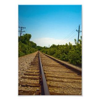 East IC Rails Photo Print