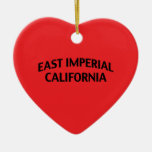 East Imperial California Ornaments