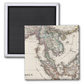 East India 2 Inch Square Magnet