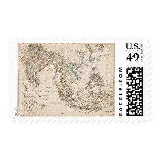 East India 2 Postage Stamp