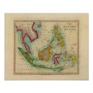 East India Islands 2 Print