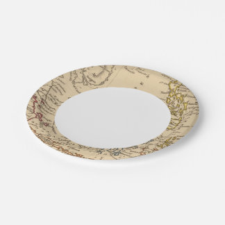 East India Islands 7 Inch Paper Plate