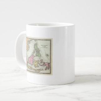East India Isles 2 20 Oz Large Ceramic Coffee Mug