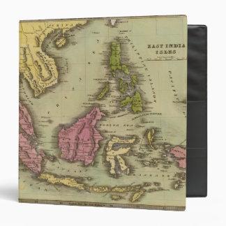 East India Isles 2 Vinyl Binder
